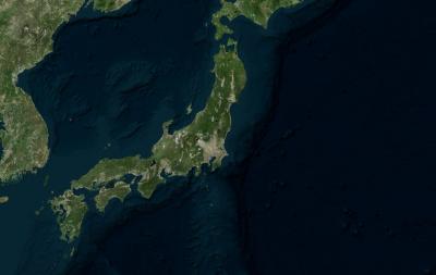 japan landmass